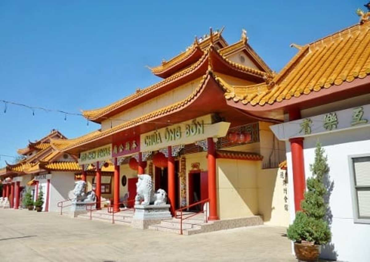 Teo Chew Temple: Located in Houston's Chinatown