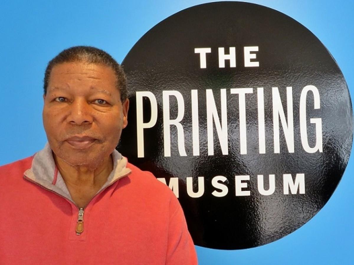 Charles Criner at The Printing Museum