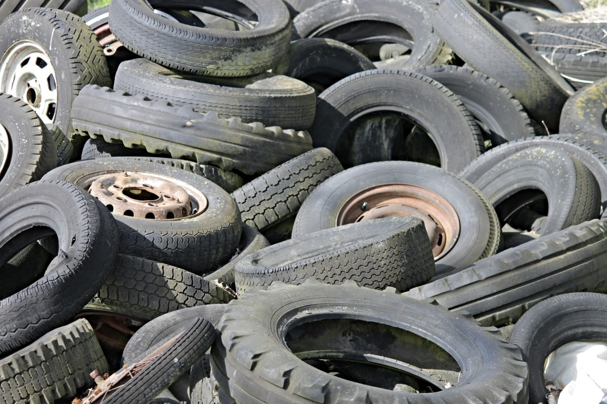 Check your car tire wear patterns and make any necessary repairs before they end up in the tire graveyard.