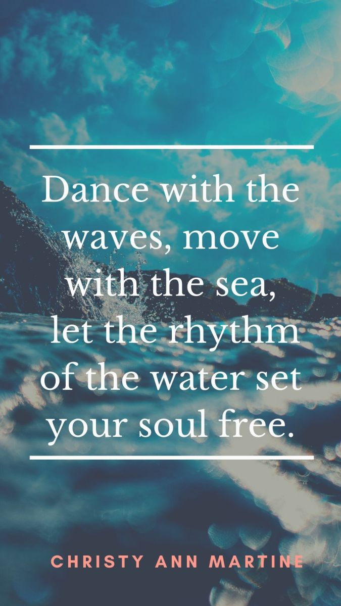 Dancing in the Waves