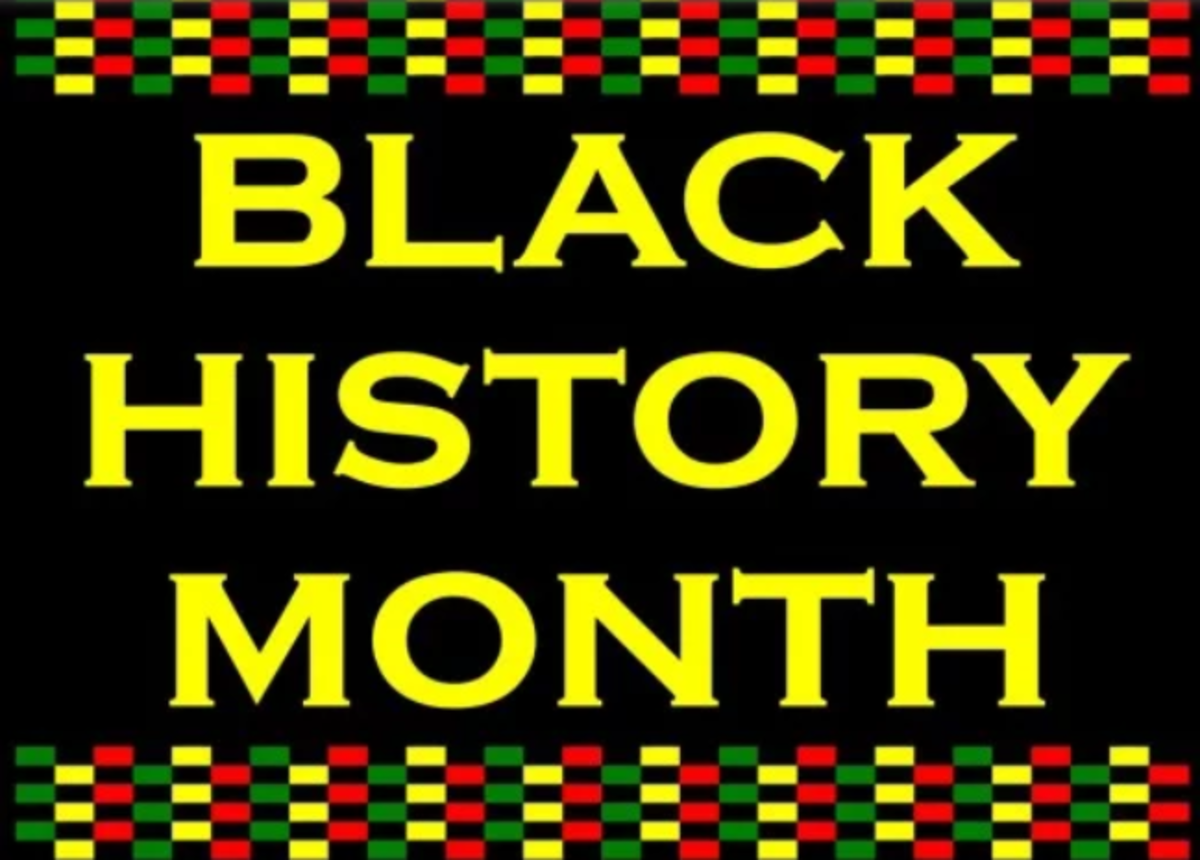 Black History Month is an annual observance that lasts throughout the month of February in the US.