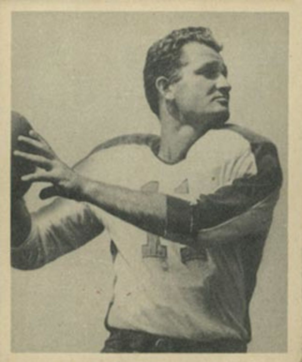 Former Philadelphia Eagles quarterback Tommy Thompson