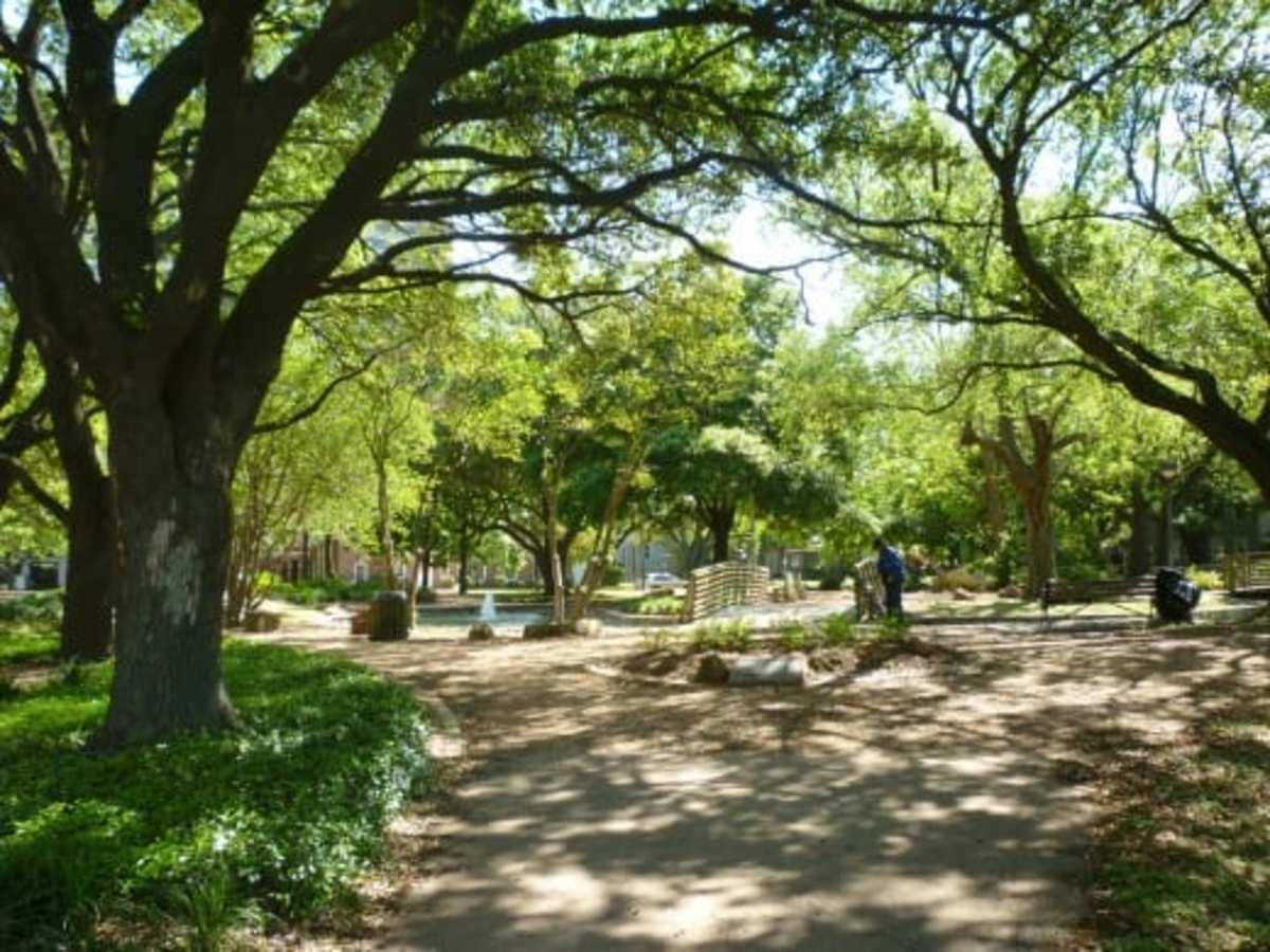 Bell Park in Houston, Texas