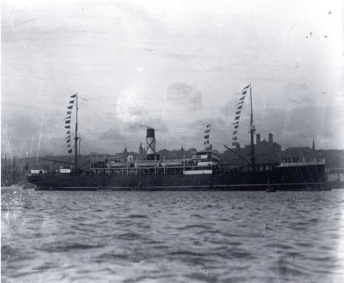 The Wreck of the SS Florizel