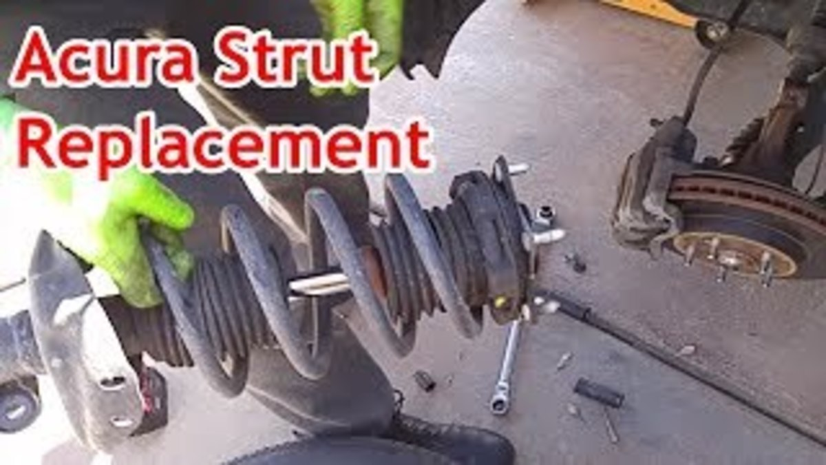 Acura RDX or Honda CRV Front Strut Replacement (With Video)