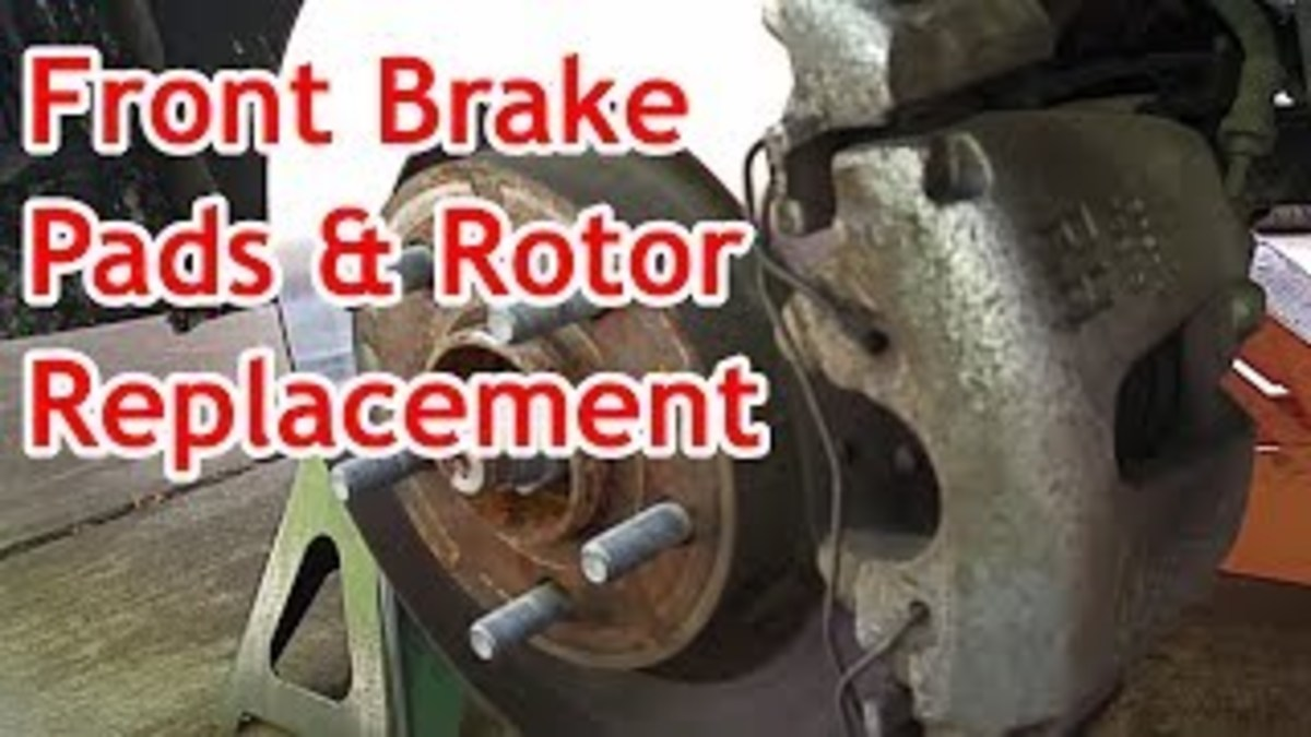 Ford Escape Front Brake Pads and Rotors Replacement (With Video)