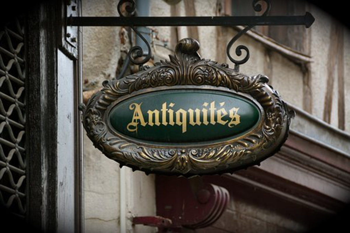 Everyday Antique Trader Vocabulary and Terminology