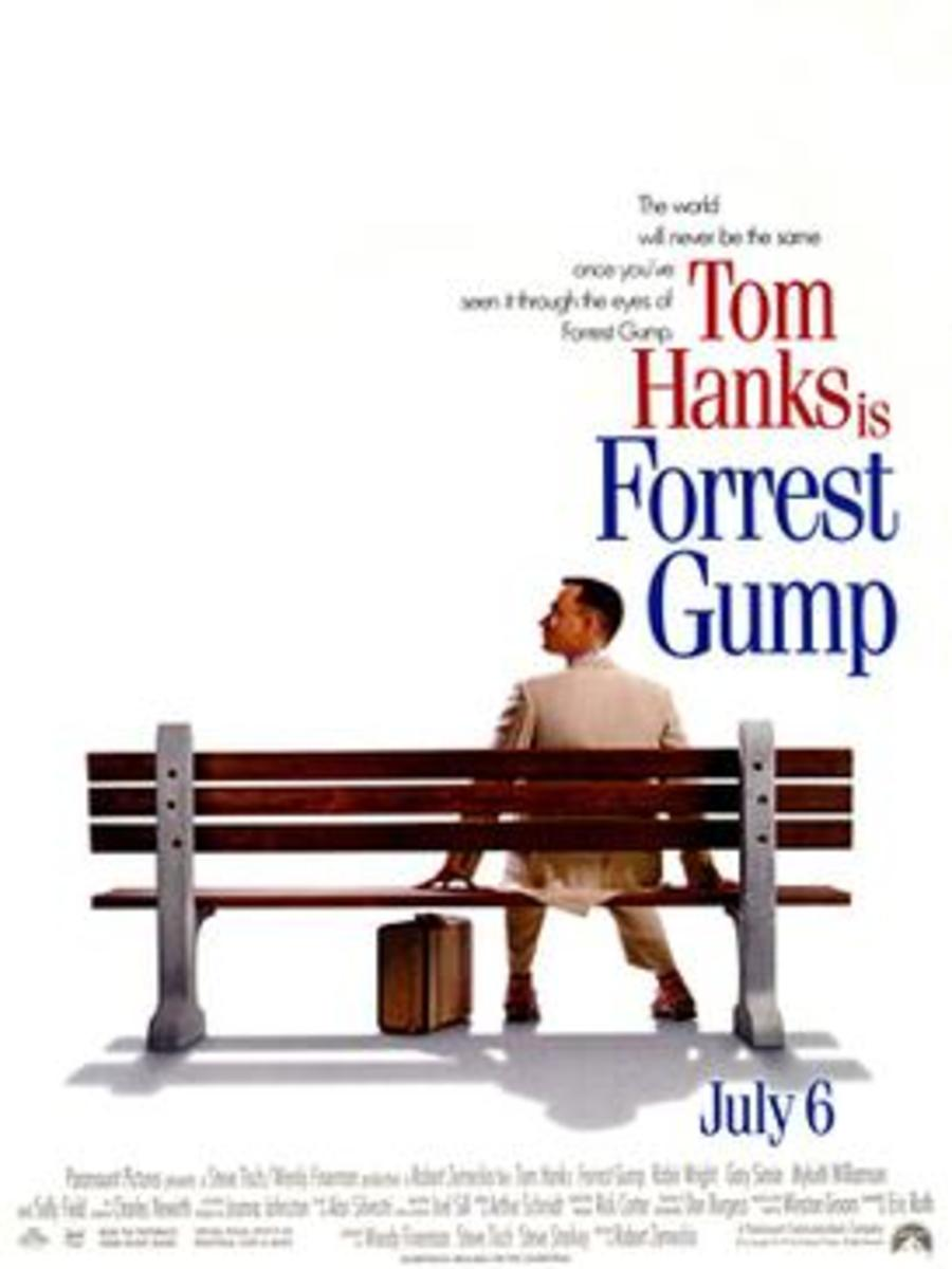 In the movie version, gargantuan Gump got gaunt.