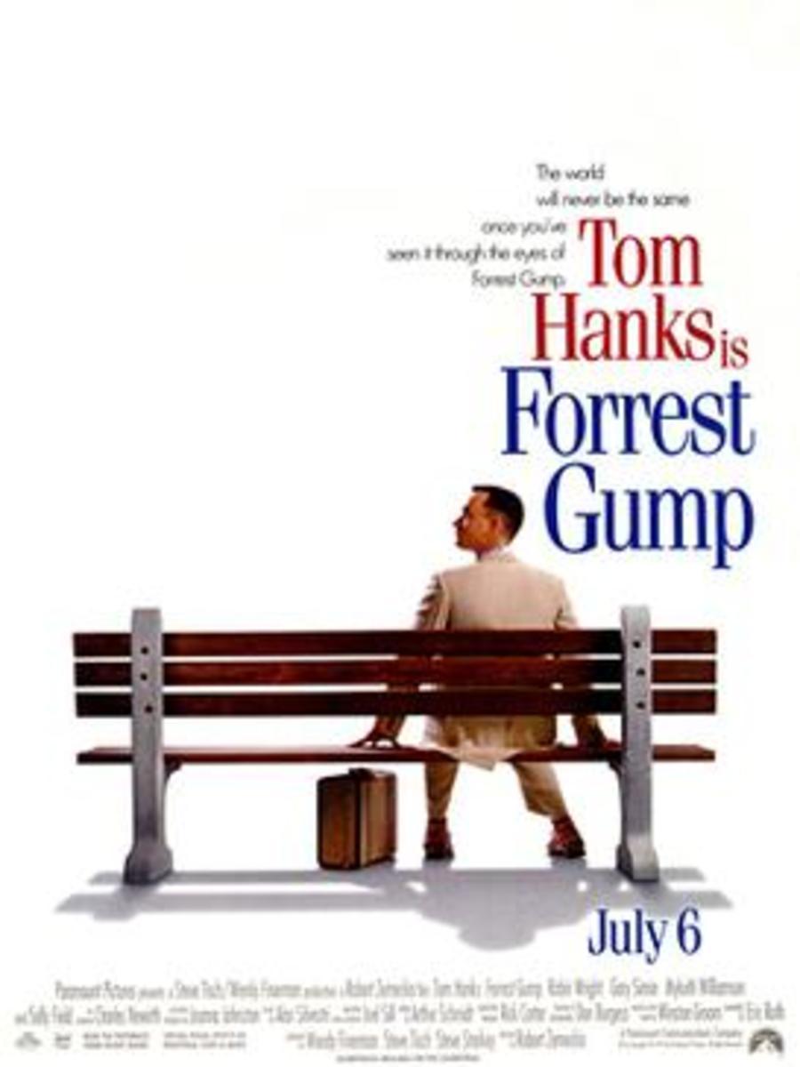In the movie version, gargantuan Gump got gaunt.