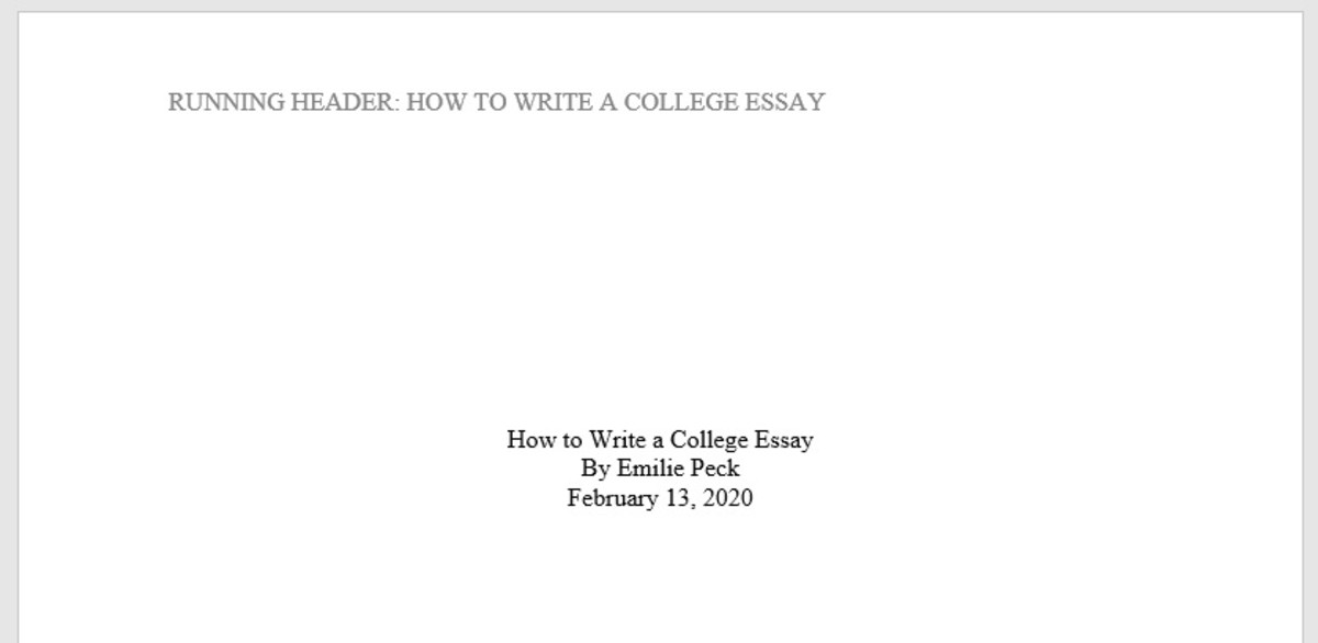 Writing Tutor Tips to College Essays