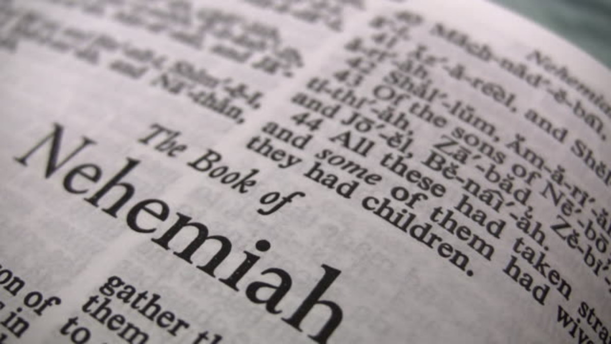 Book of Nehemiah Overview with Life Applications