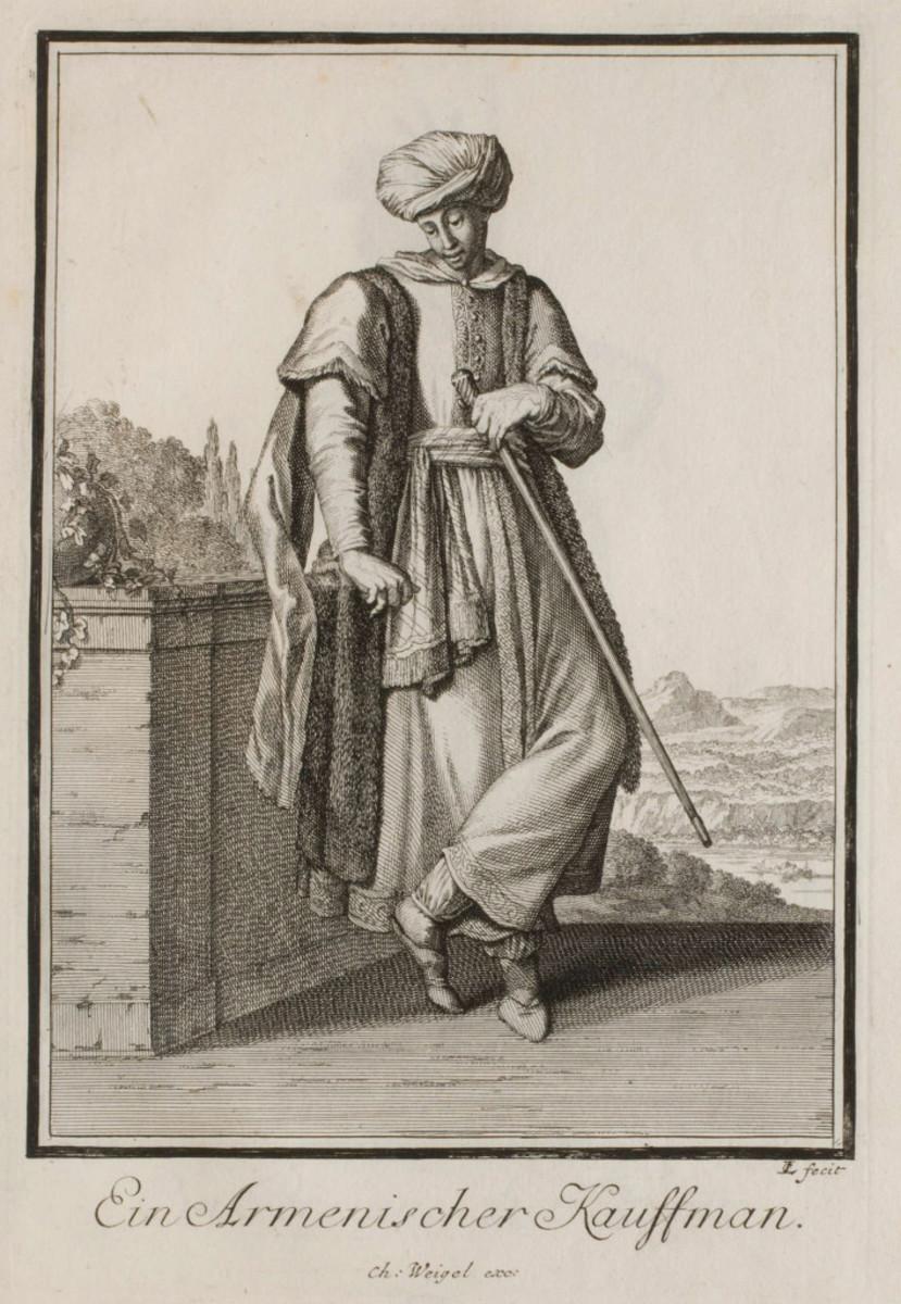Armenian merchant circa 1620