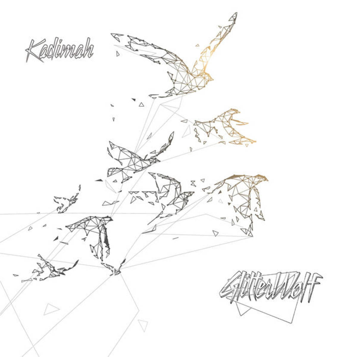 "Artwork for Glitterwolf's new single, ""Kadimah"""
