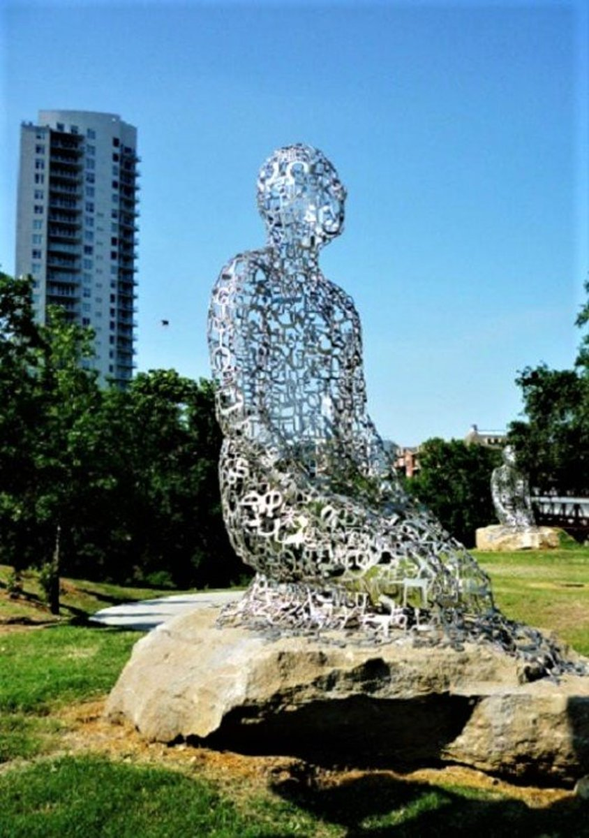 """Tolerance"" Sculptures on Harmony Walk by Jaume Plensa"