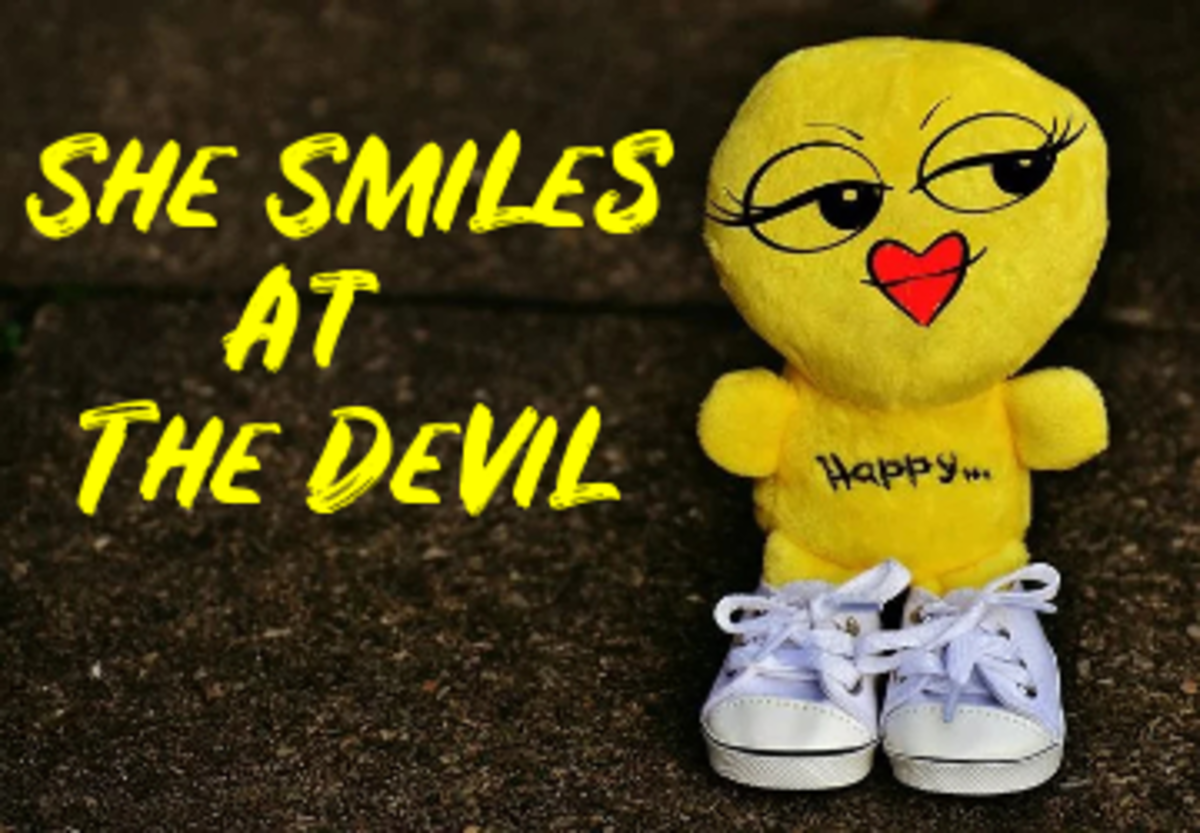 Poem: She Smiles at the Devil