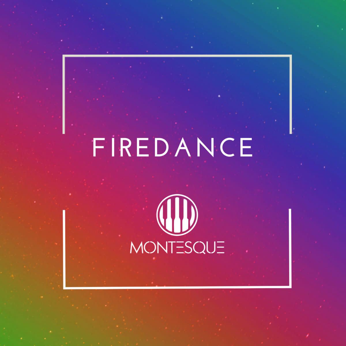 "Artwork for Montesque's new single, ""Firedance"""