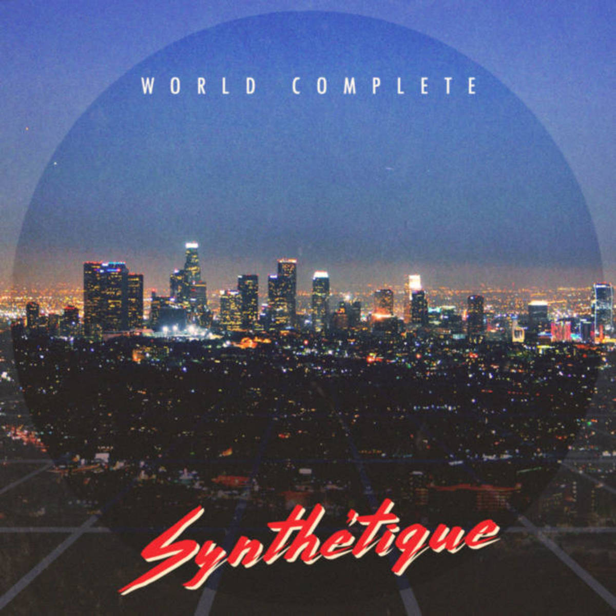 """Artwork for World Complete's new single, """"Synthétique"""""""