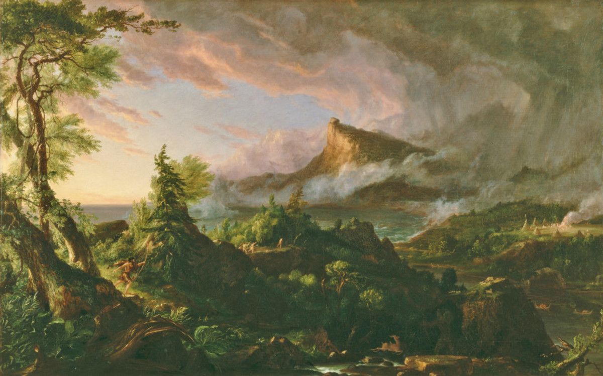 """The Savage State"" by Thomas Cole"