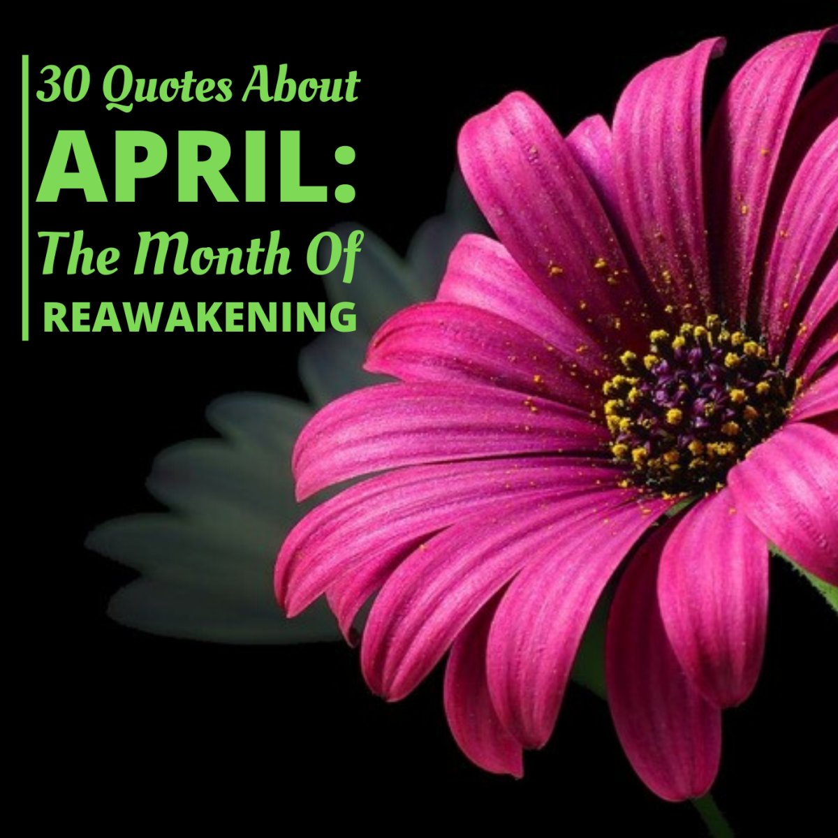 30 Quotes About April: Month of Re-Awakening