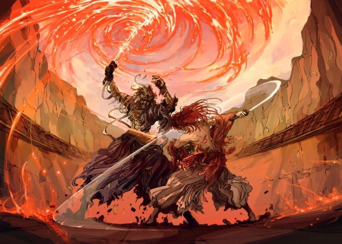 Shishio vs Kenshin