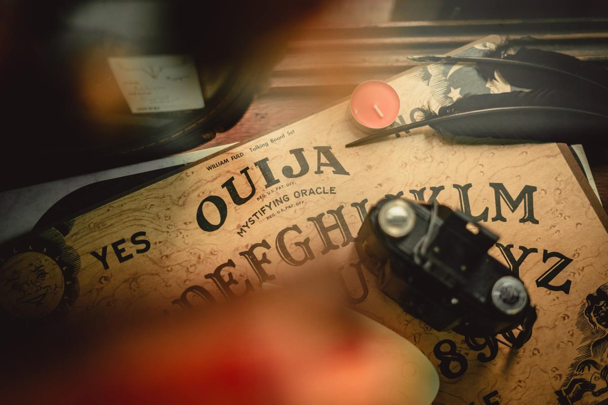 The mysterious Ouija board.