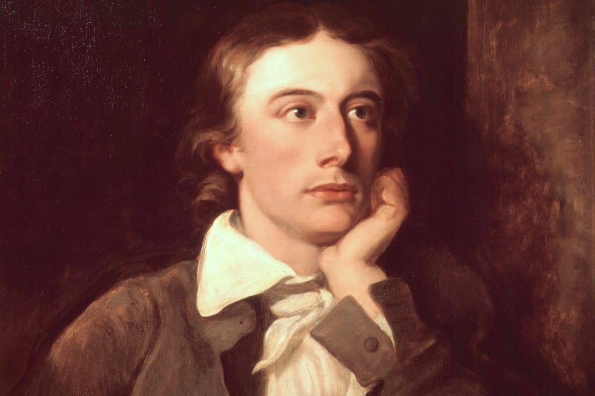 John Keats painted by William Hilton