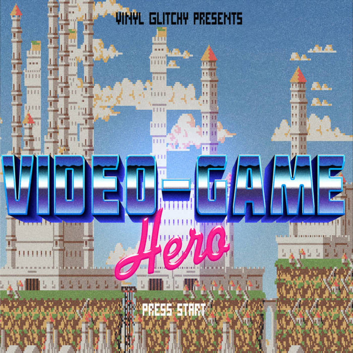 Synth Single Review: Video Game Hero by Vinyl Glitchy