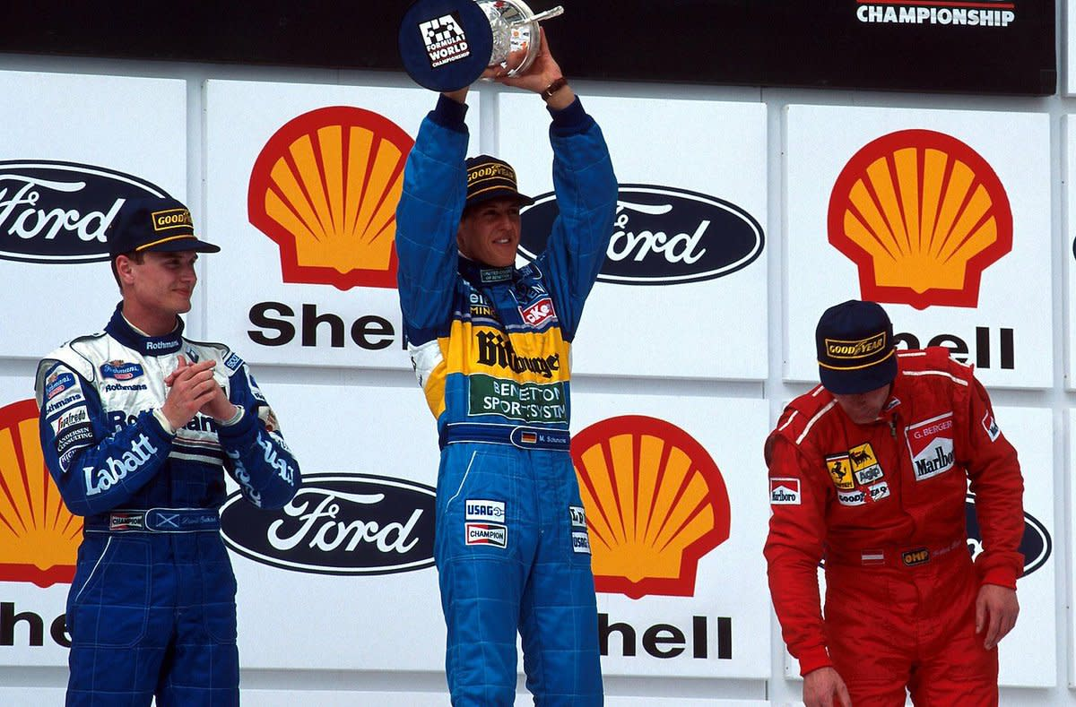 The 1995 Brazilian GP: Michael Schumacher's 11th Career Win