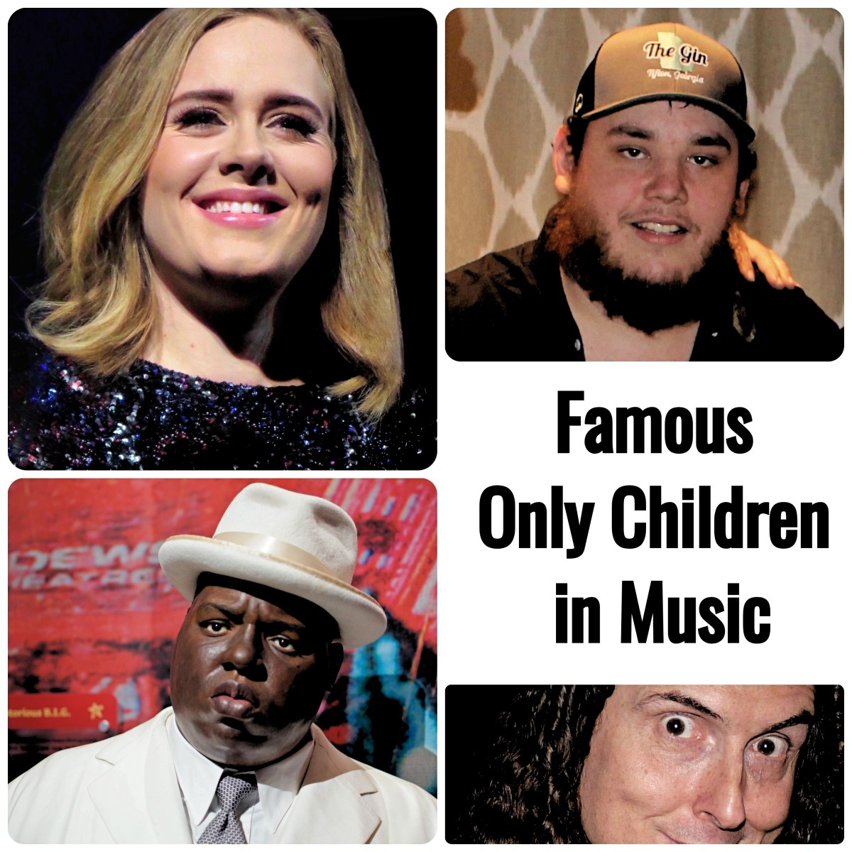 """Don't call them """"lonely onlies."""" While most people grew up with siblings, these popular musicians were raised as only children. Learn which rock, country, mainstream pop, and R&B musicians have no brothers or sisters."""