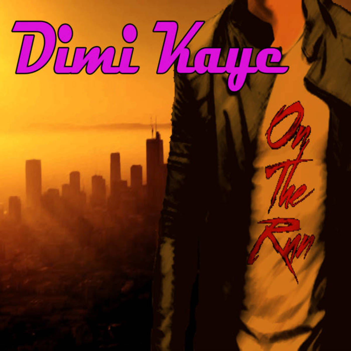 """Synthwave EP Review: """"On The Run"""" by Dimi Kaye"""