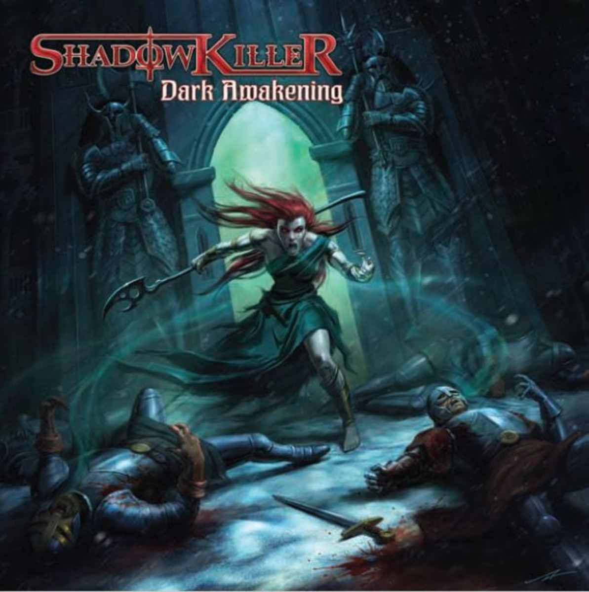 """Dark Awakening"" CD cover"