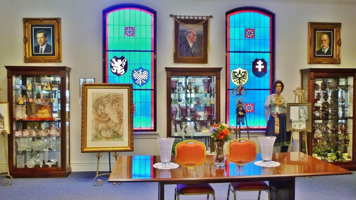 Czech Center Museum Presidents Room