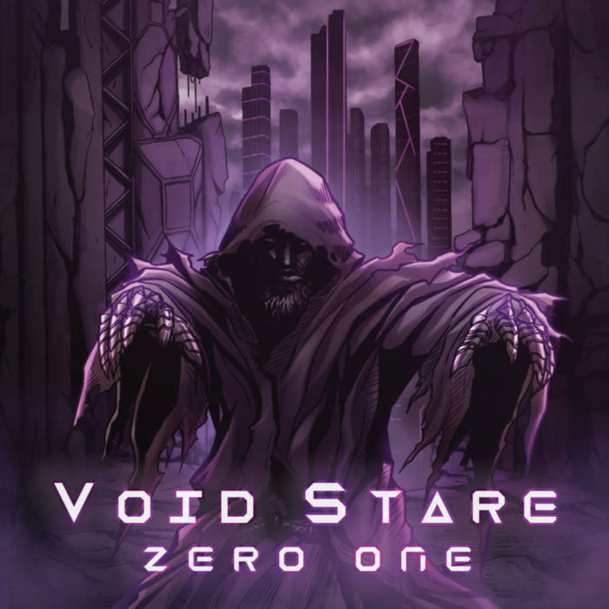 "Artwork for the album ""Zero One,"" by Void Stare"