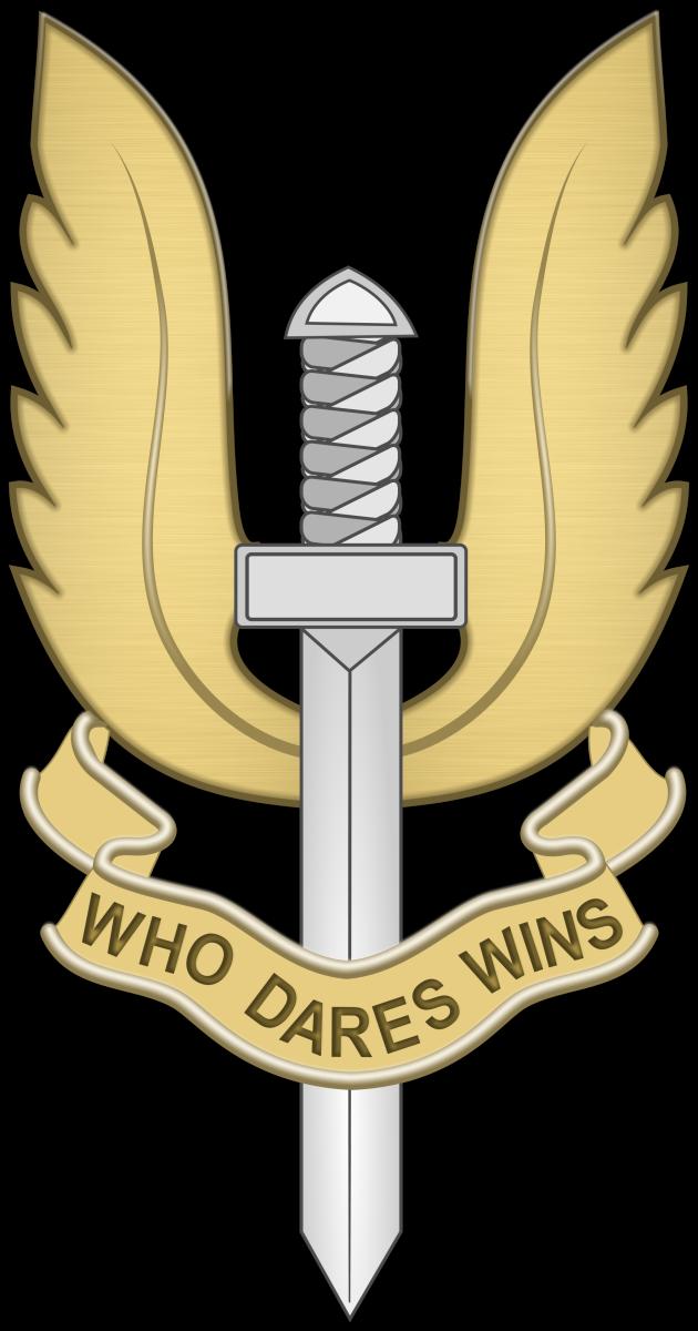 The Regimental emblem of the SAS
