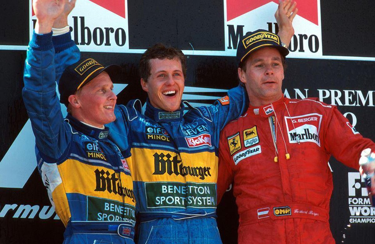 The 1995 Spanish GP: Michael Schumacher's 12th Career Win