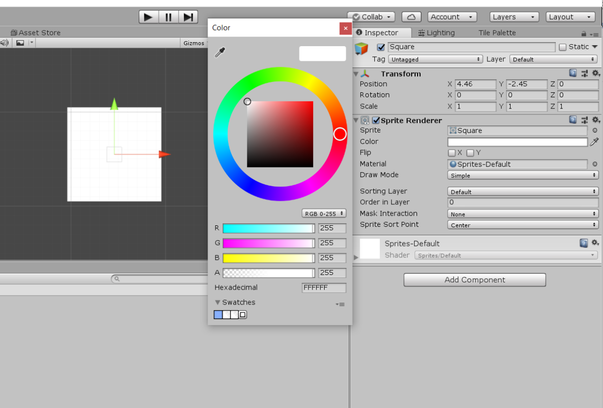 How to Fade a GameObject in Unity