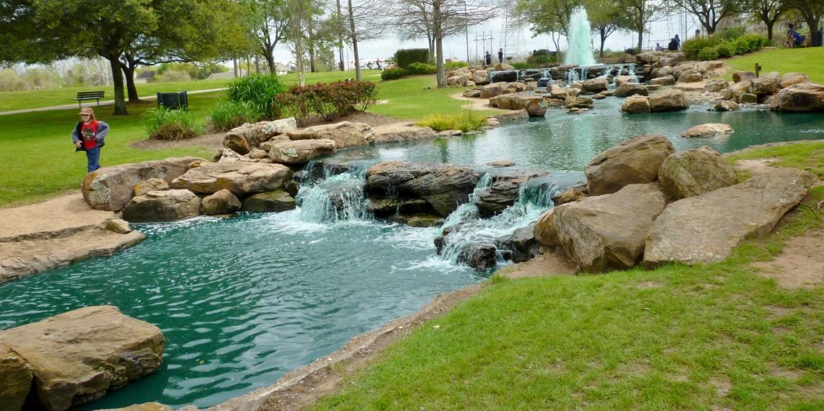 Oyster Creek Park in Sugar Land, Texas