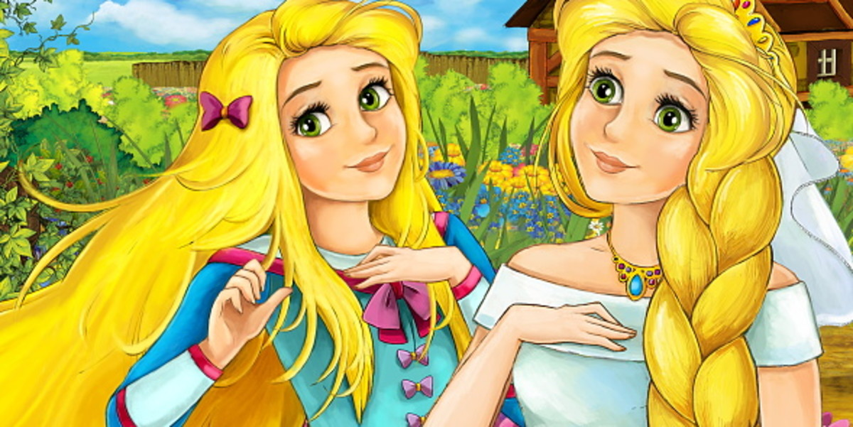 Granny's Tales: The Stories of Childhood: Saria and Maria's Tale