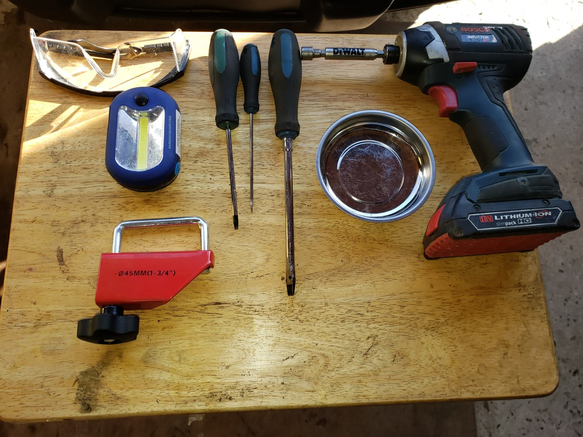 Some of the tools listed above.