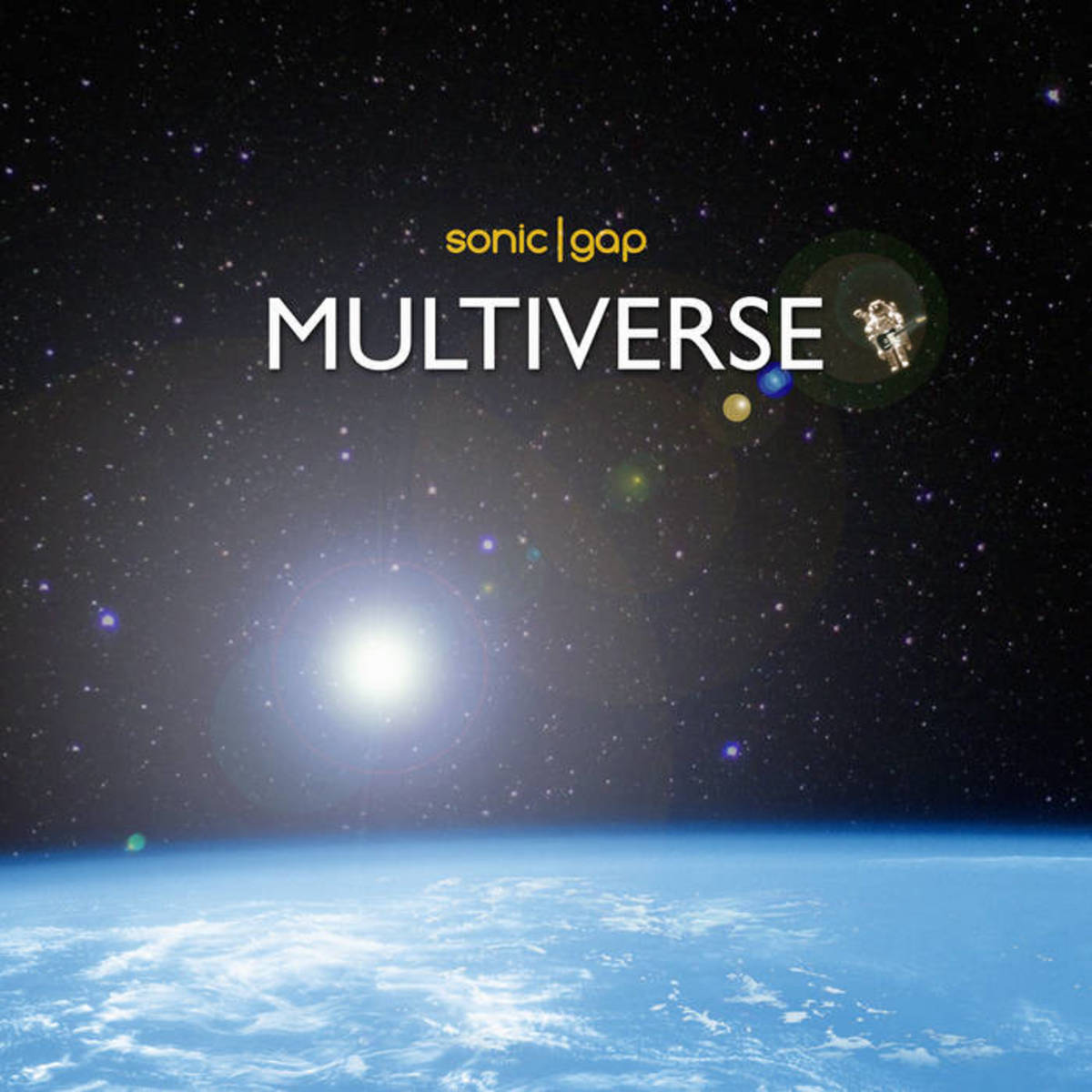 "Artwork for Sonic Gap's new single, ""Multiverse"""