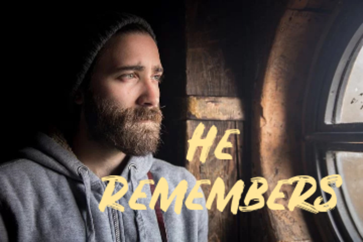 Poem: He Remembers