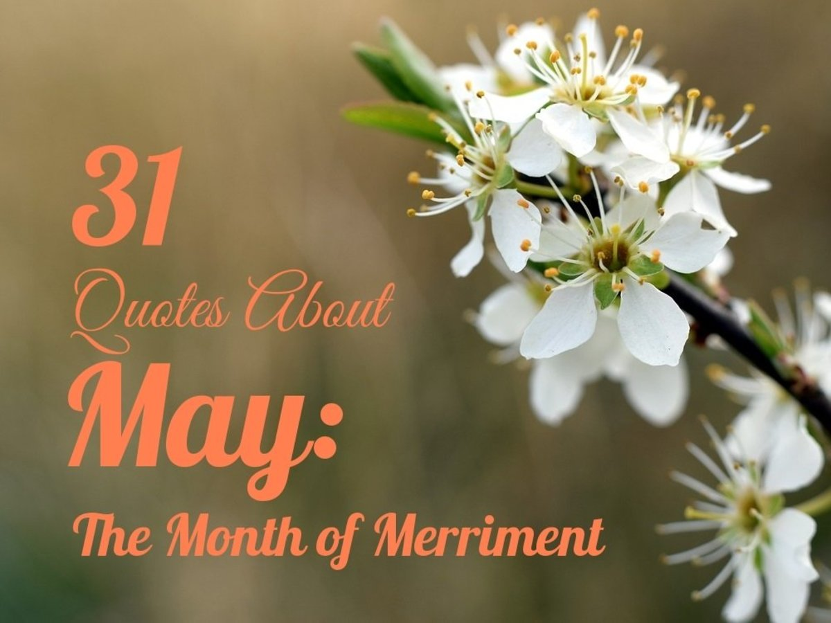 The hawthorn blossom is one of the official flowers of May.