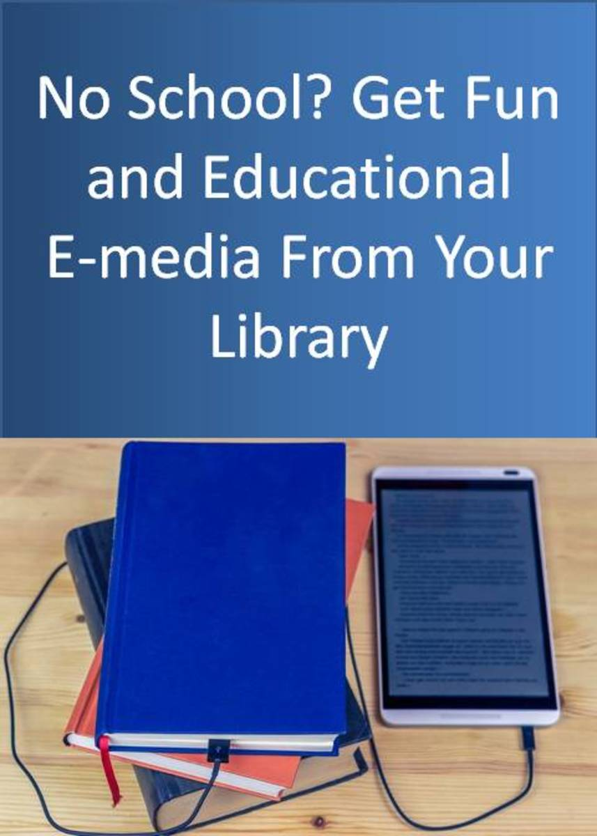 4 Library Resources for E-Books and Videos for Kids Who Are Stuck at Home