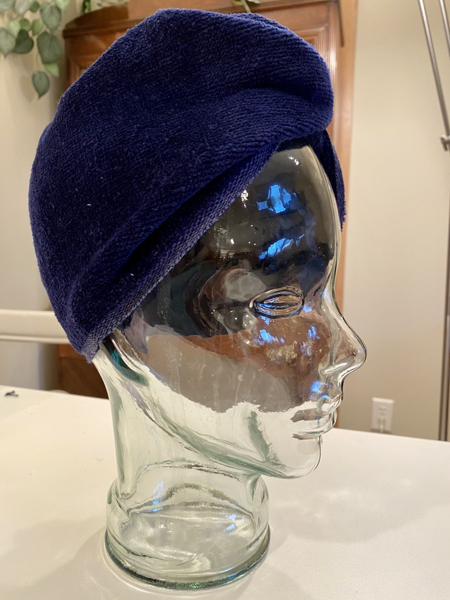 How to Make a Hair Turban to Dry Your Hair