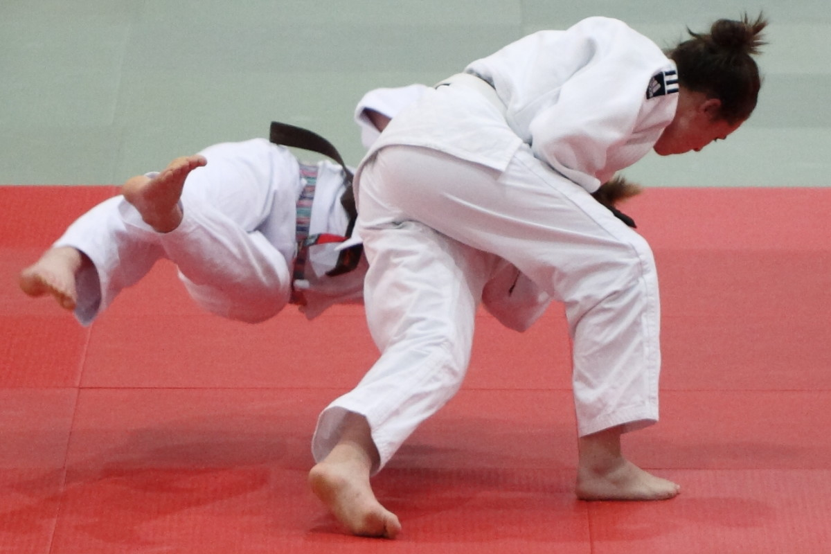 Judo involves a lot of throws and is an Olympic sport.
