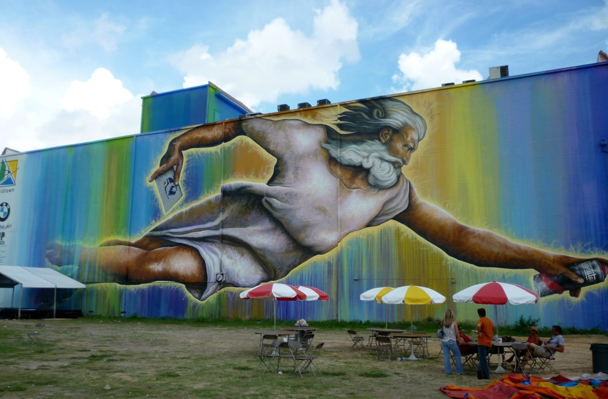 Preservons la Creation: Huge Texas-Sized Houston Mural
