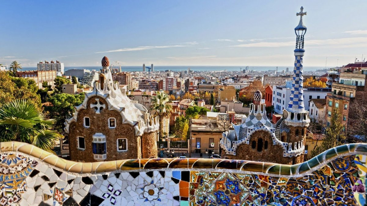 ...from Gaudi's point of view.