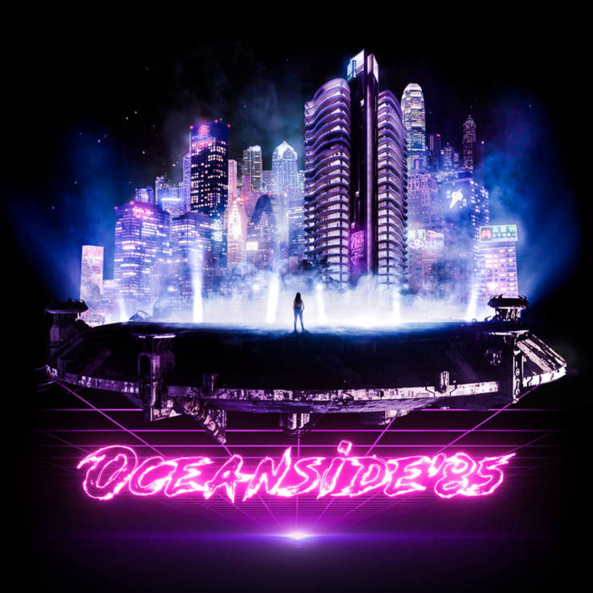 """Synthwave Single Review: """"While the City Sleeps"""" by Oceanside85 (feat. Octal Drive)"""