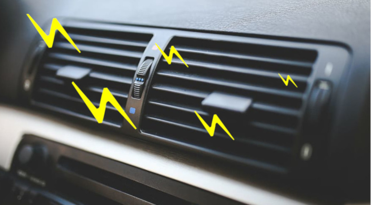 Car AC odors are usually caused by fungi growth.