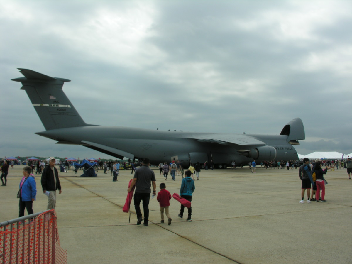 The Lockheed C-5 Galaxy Cargo Plane